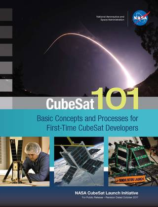 NASA CubeSat 101: Basic Concepts and Processes for First-Time CubeSat Developers Cover Image